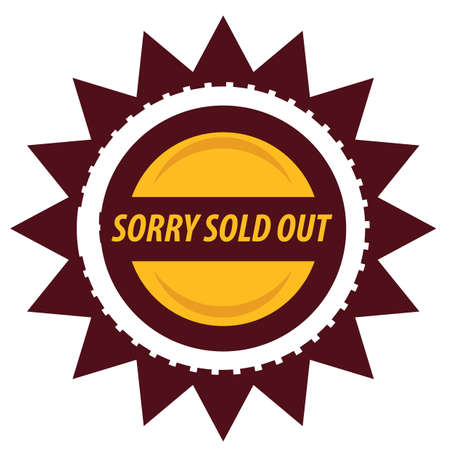 out: sorry sold out label