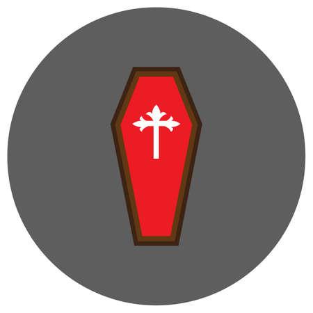 casket: coffin Illustration