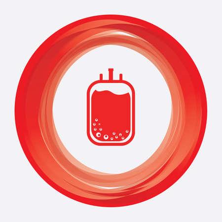 infusion: blood iv bag