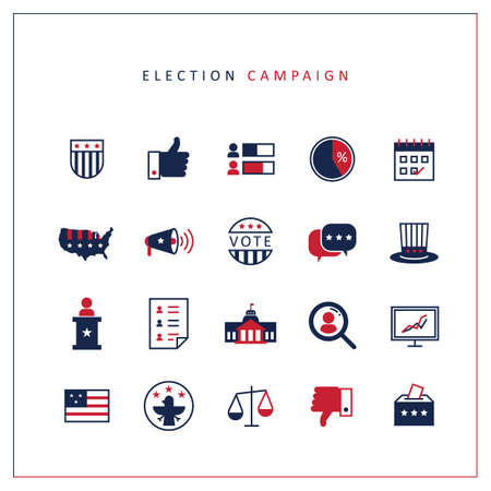 election campaign icons