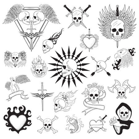 Tattoo-Design-Set