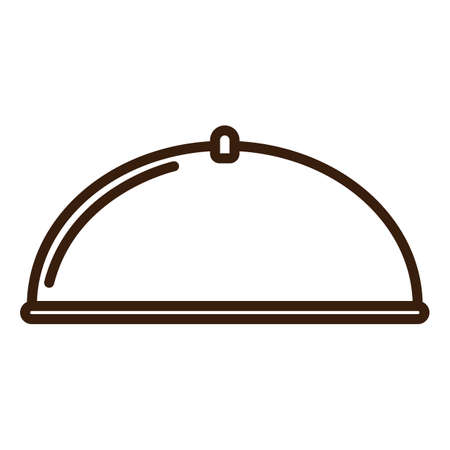 plate: plate and dome Illustration