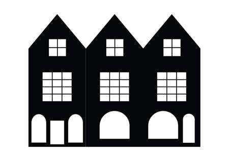 residences: silhouette of building