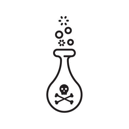 potion: poisonous potion Illustration