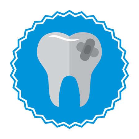 치아에 접착 성 붕대