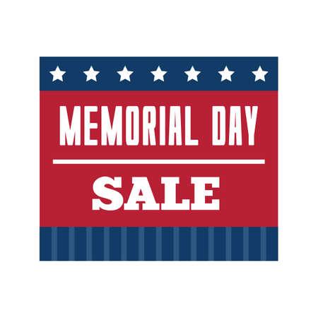 memorial day sale Stock Vector - 52541842