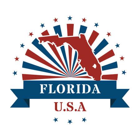 florida state: florida state map label
