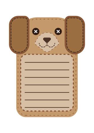 cute dog: cute dog note