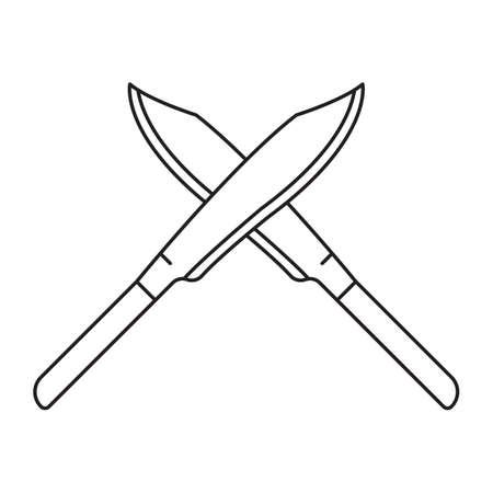 knives: crossed knives