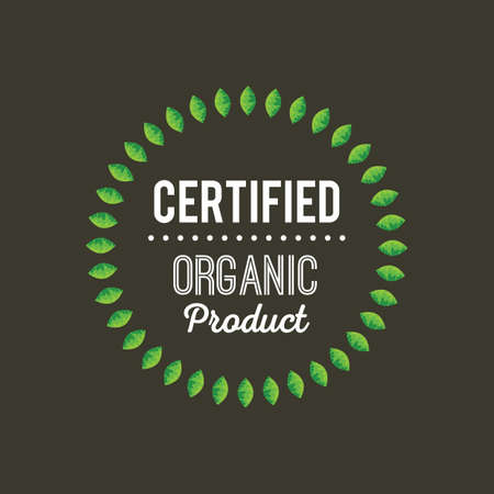 certified: certified organic product