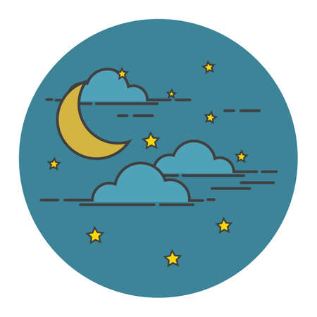 sky: night sky