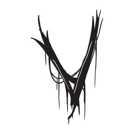 letter v: letter v