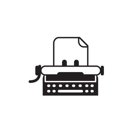 type writer: typewriter Illustration