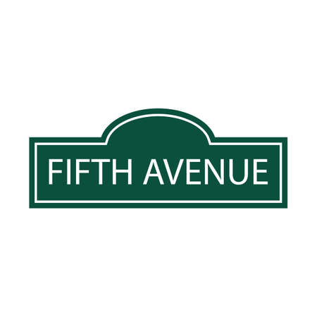 fifth: fifth avenue Illustration