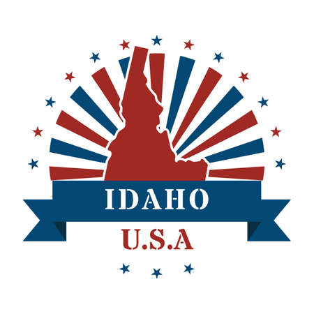 idaho state: idaho state map label
