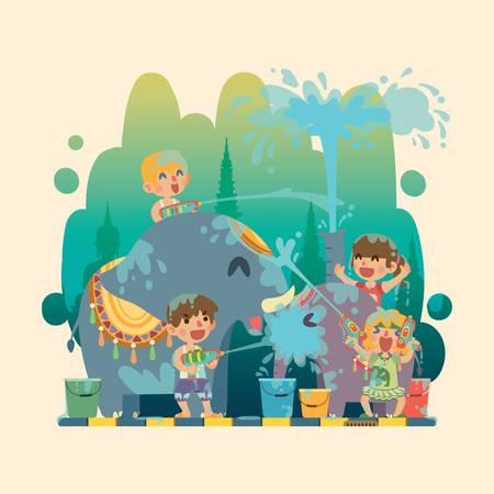 songkran: Kids