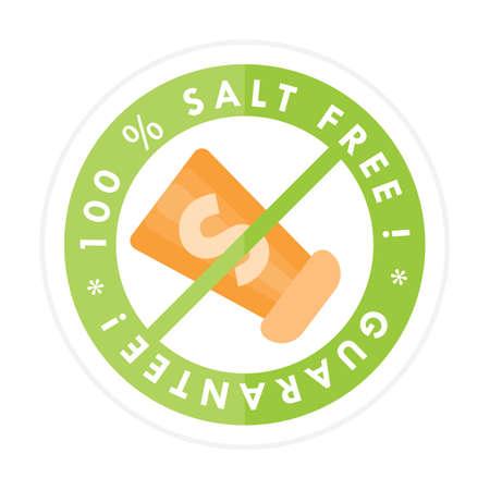 salt: salt free label