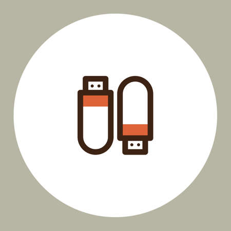 drives: usb flash drives Illustration
