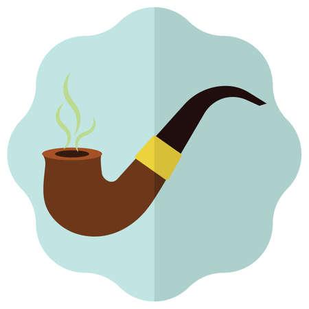 smoking pipe: smoking pipe