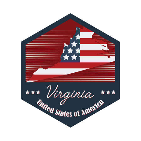 virginia: virginia label
