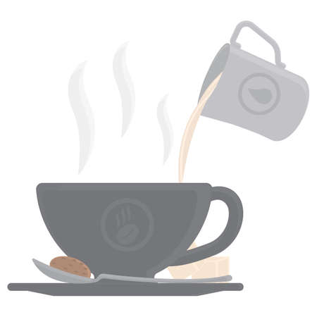 pouring: coffee pouring into cup