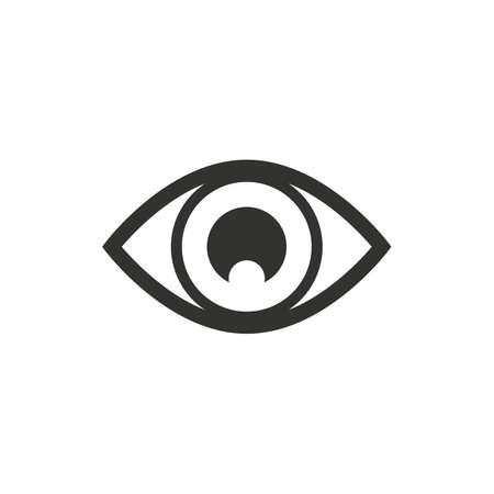 sense of sight: eye Illustration