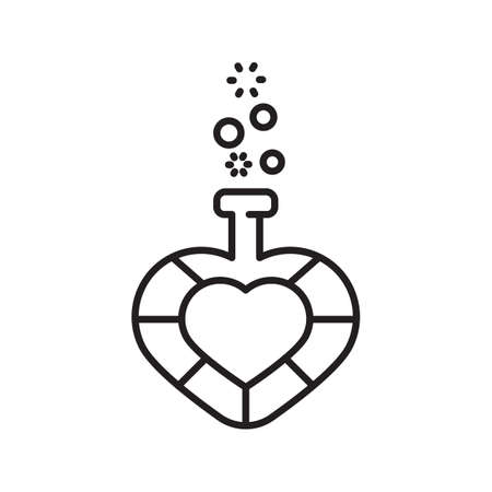 potion: love potion Illustration