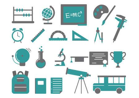 vernier: educational icons