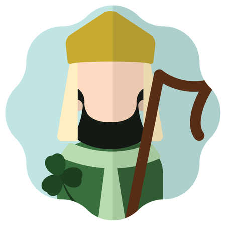 patrick: saint patrick Illustration