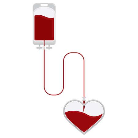 symbolical: blood donation