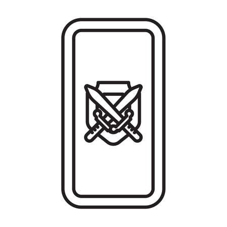 crossed swords: shield with crossed swords
