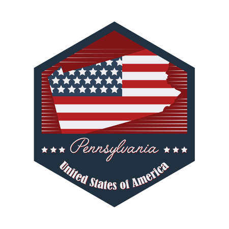pennsylvania: pennsylvania label