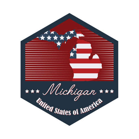 michigan: michigan label