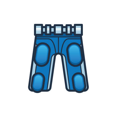 trouser: football pants with built in pads Illustration