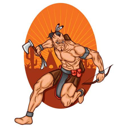 Warrior  Ilustración de vector