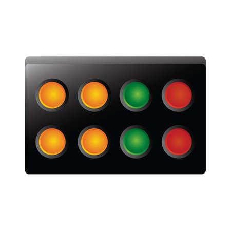 controlling: traffic lights
