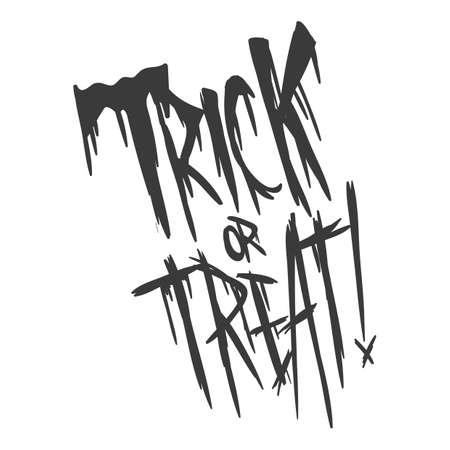 trick or treat Vector Illustration