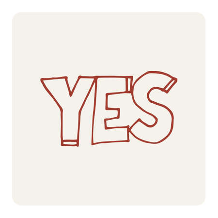 wrote: yes Illustration