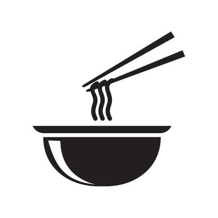 noodles: noodles in a bowl