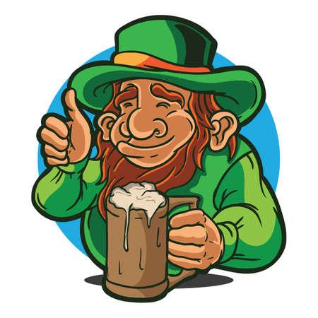 lederhosen: lederhosen holding beer mug