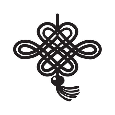 chinese knot: lucky chinese knot