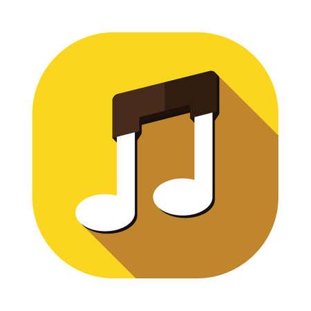 musically: music sign