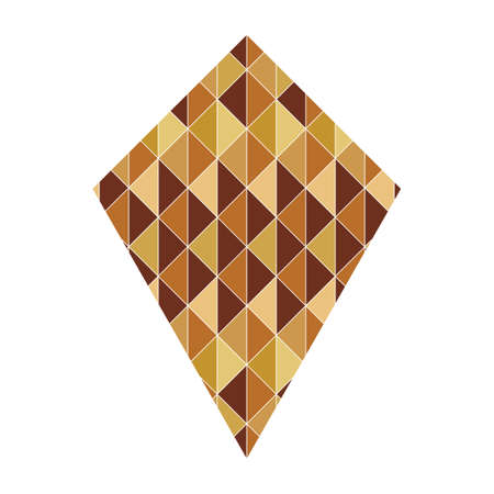 quadrilateral: quadrilateral with geometrical pattern