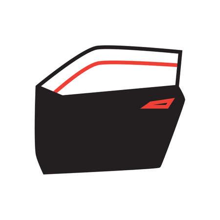 spare part: car door Illustration