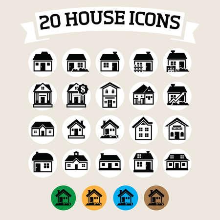 house icon Ilustração Vetorial