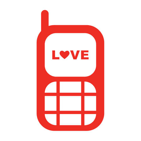 mobilephones: love message on mobile phone