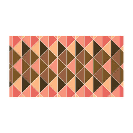 rectangle: rectangle with geometrical pattern