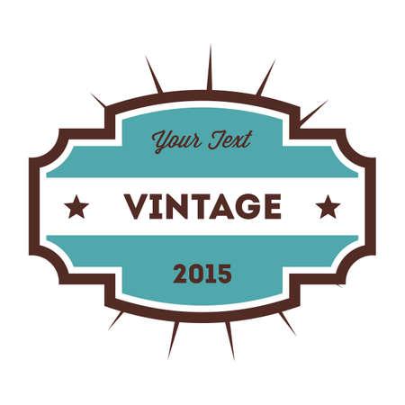 batch: vintage label Illustration