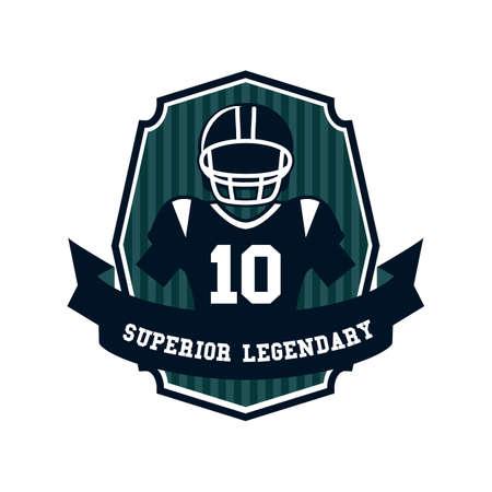legendary: superior legendary label design