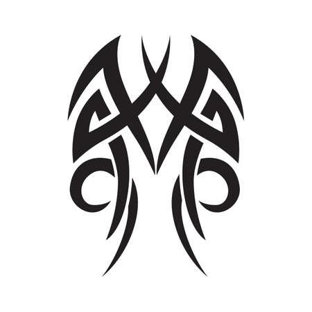 Tatouage tribal Banque d'images - 52575663